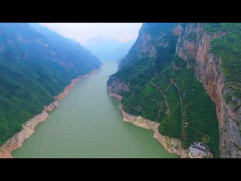 Yantze  River Cruise Drone Aerial Video  Gate1Travel