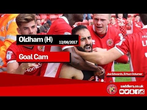 GOAL CAM   Walsall 2-1 Oldham Athletic   Joe Edwards, Erhun Oztumer