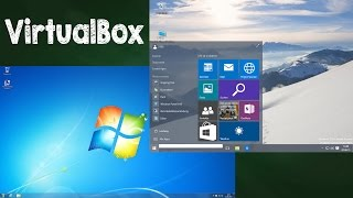 Windows 10 Installation VirtualBox auf Windows 7 oder 8 PC, Tutorial Deutsch