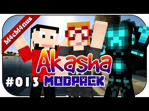 MINECRAFT AKASHA #013 - Travel Anchor und Painting Machine★Lets Play Minecraft Akasha German
