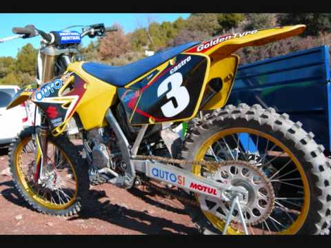 my suzuki rm 125 motocross youtube. Black Bedroom Furniture Sets. Home Design Ideas