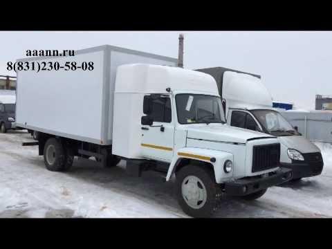 ГАЗ 3309 со Спальником изотермический фургон 5м