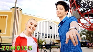 Download Behind the Scenes: BAMM Cheer Routine   ZOMBIES   Disney Channel Mp3 and Videos