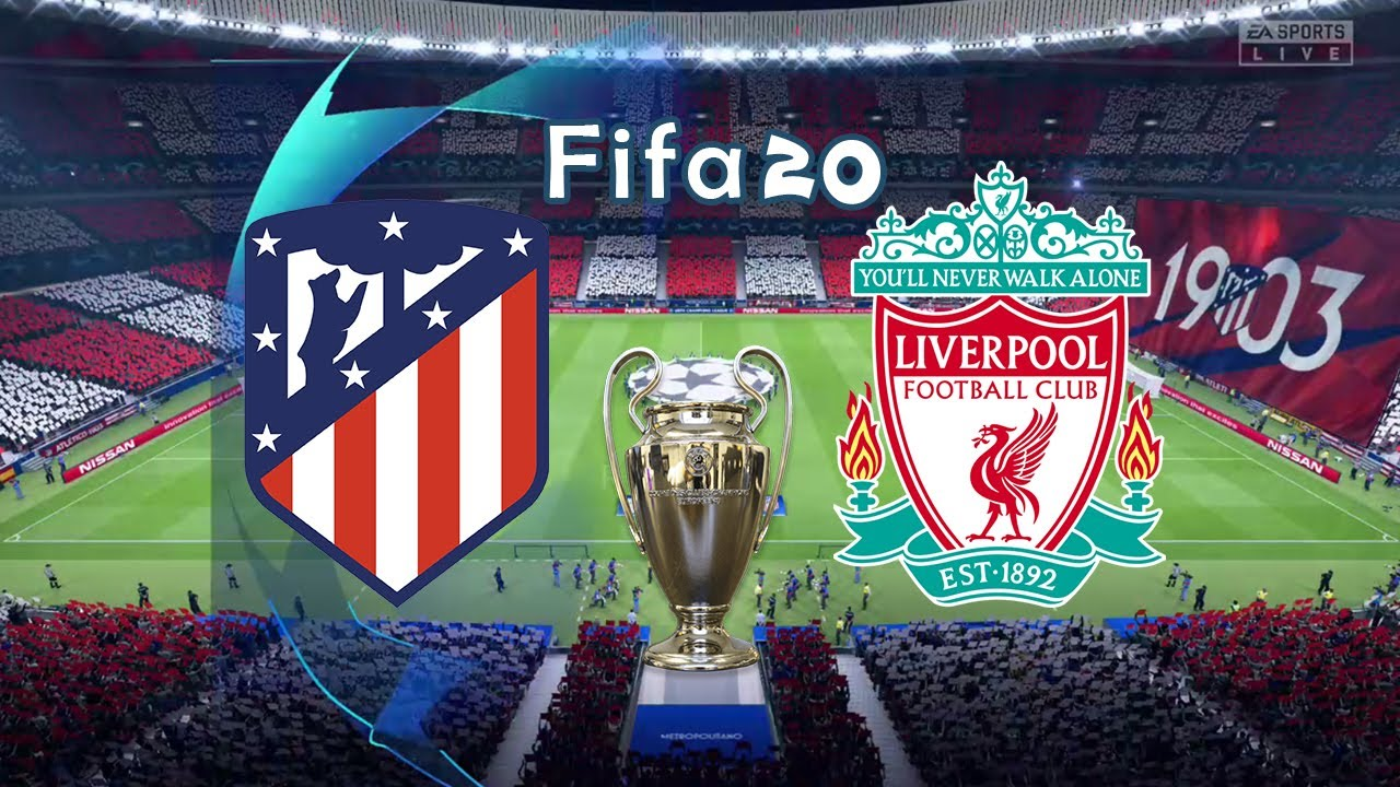 Fifa 20 Gameplay | Atletico Madrid vs Liverpool | Round Of 16 UEFA Champions League Leg 1 19/20
