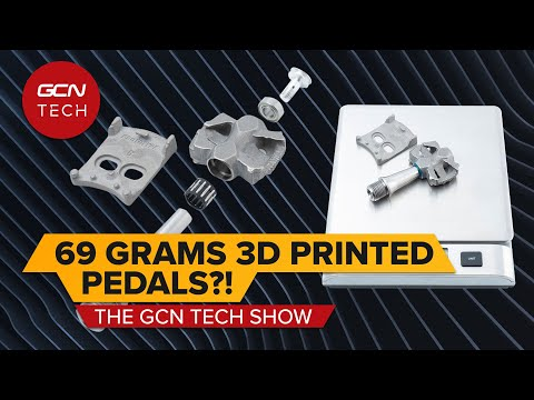 Super Light 3D Printed Titanium Pedals! | GCN Tech Show Ep.166