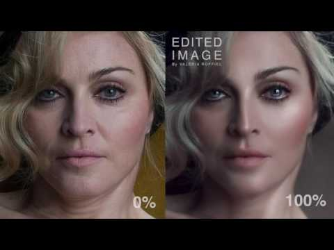 My favorite Photoshop exercise, from zero to HERO! FT. MADONNA