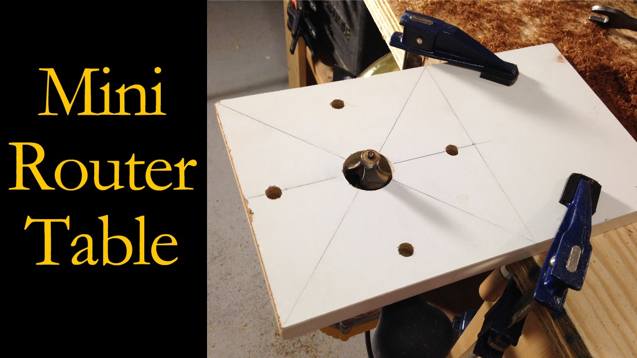 Miniature router table router base cmrw23 youtube keyboard keysfo Image collections