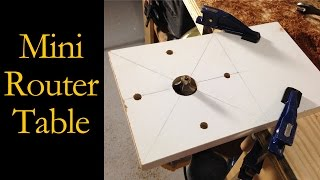 Miniature Router Table Router Base (CMRW 23)