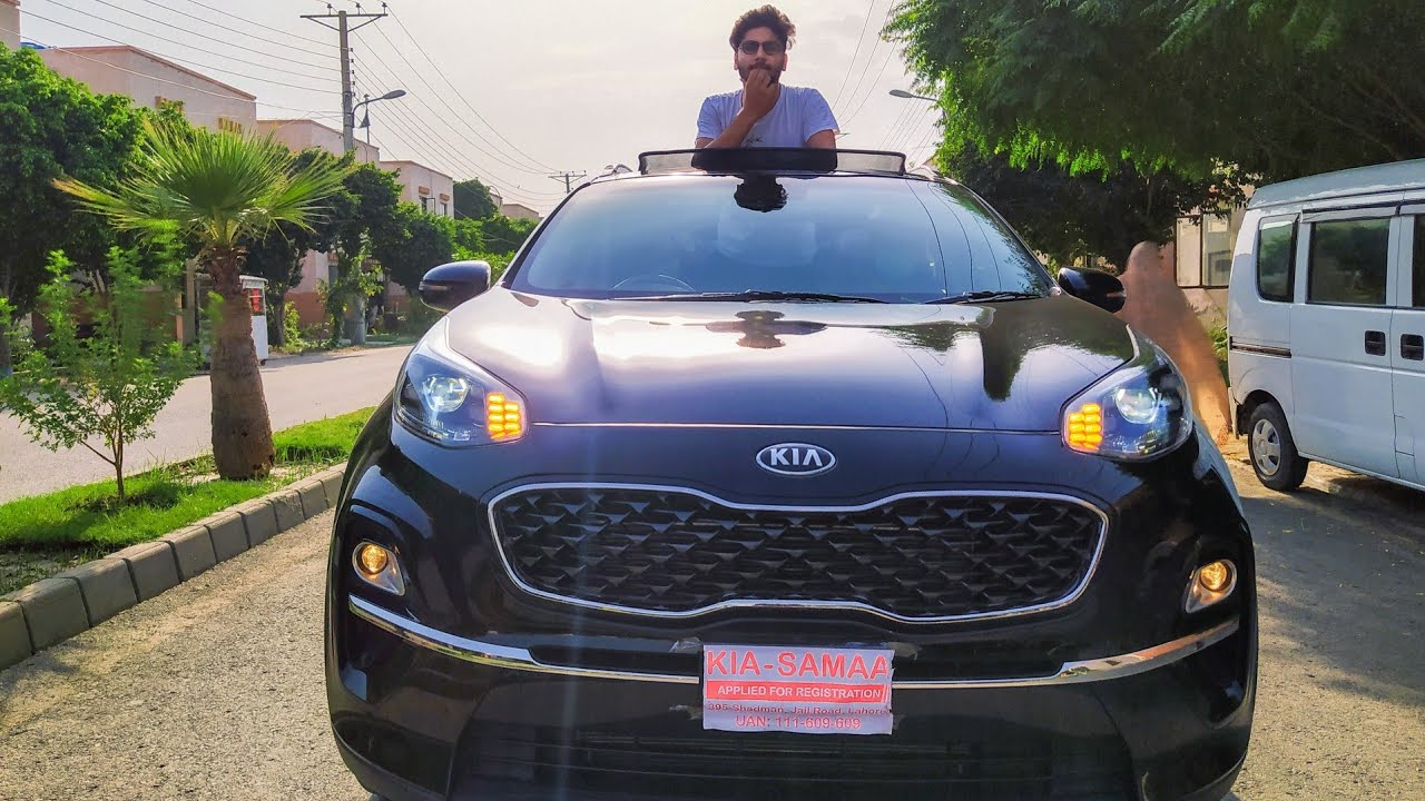 Kia Sportage 2020 Detailed Review Test Drive 0 100 Test Price In Pakistan Specs Features Youtube