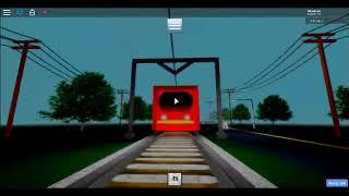Playing Train Simulator on Roblox