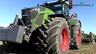 Fendt 942 Vario (415 KM) + maszyny uprawowe Amazone w akcji na polu