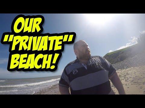 """Our """"Private"""" Beach!"""