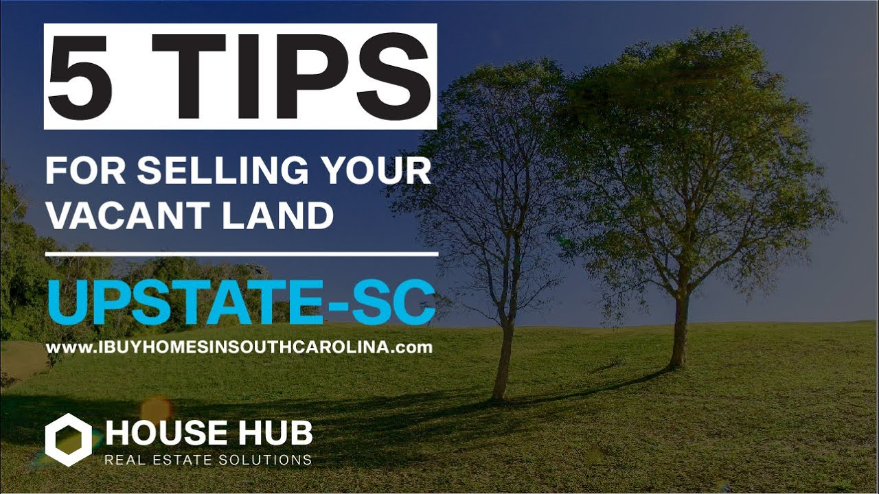 Sell Land Fast Upstate SC // 864-272-5400 // We Buy Land In South Carolina