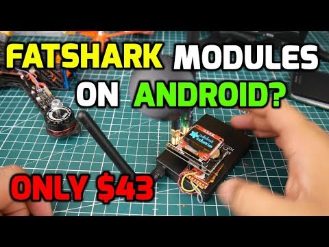 Fatshark Modules on Android and IOS Mod // G-model 5.8G 300CH