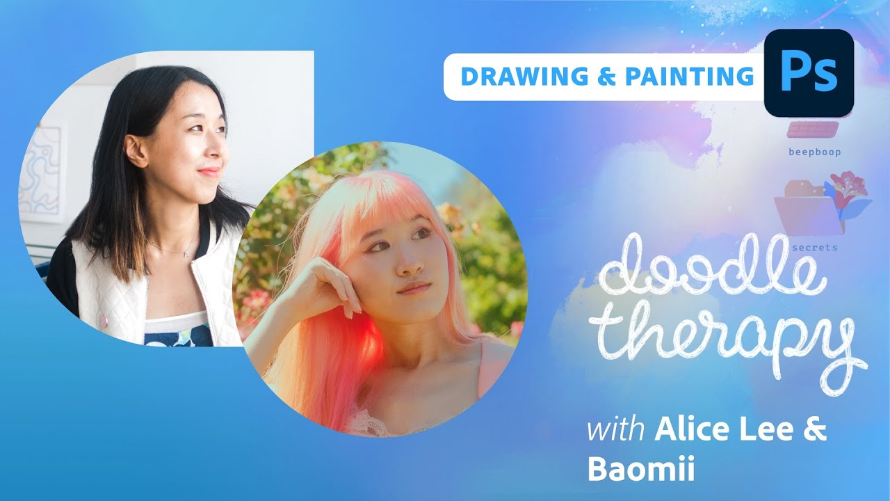 Doodle Therapy: Spooky Spells with Baomii and Alice Lee