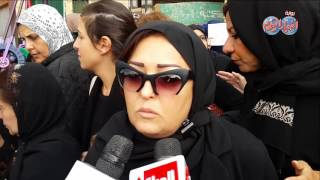 أخبار اليوم | جنازة زبيدة ثروت من مسجد السيدة نفيسة و كلمة عفاف شعيب وعمرو الليثي