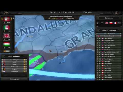 How Peace Conferences Work | Hearts of Iron 4