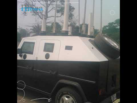 HiSea Vehicular Jamming System, Vehicle Jammer Solution