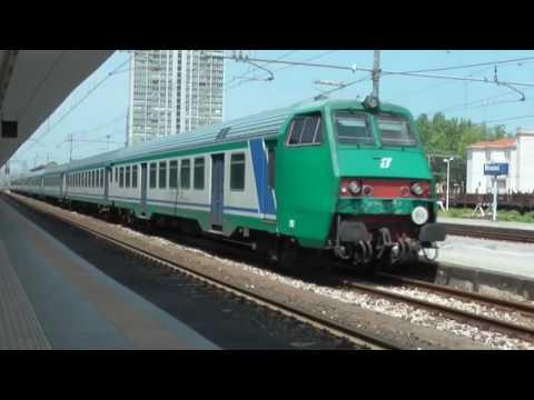 ITALY TRAINS: train spotting at Rimini