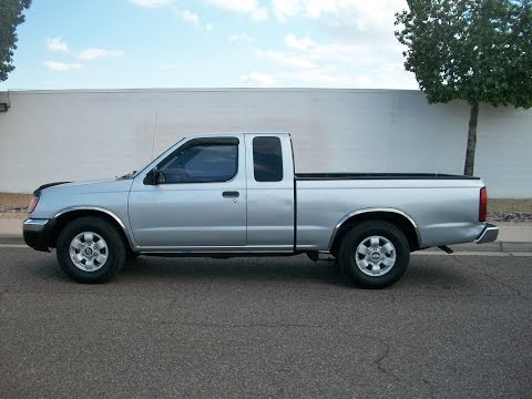 2000 Nissan Frontier 2WD XE King Cab I4 New Tires 5 Spd PR1169