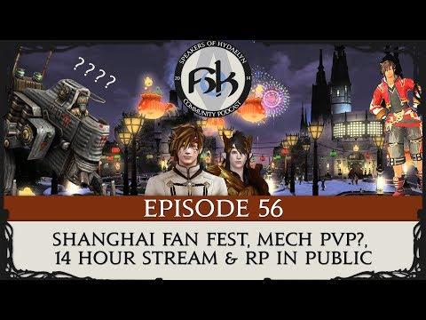 SoH Episode 56 | Shanghai Fan Fest, Mech PvP?, 14 Hour Stream & RP in Public