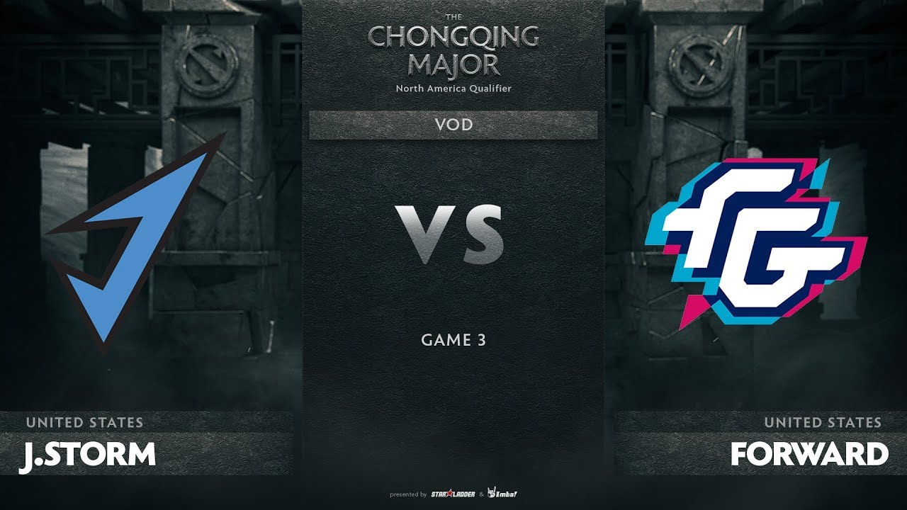 J.Storm vs Forward Gaming, Game 3, NA Qualifiers The Chongqing Major