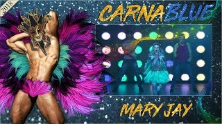 Blue Space Oficial | CarnaBlue |  Mary Jay e Ballet - 10.02.18