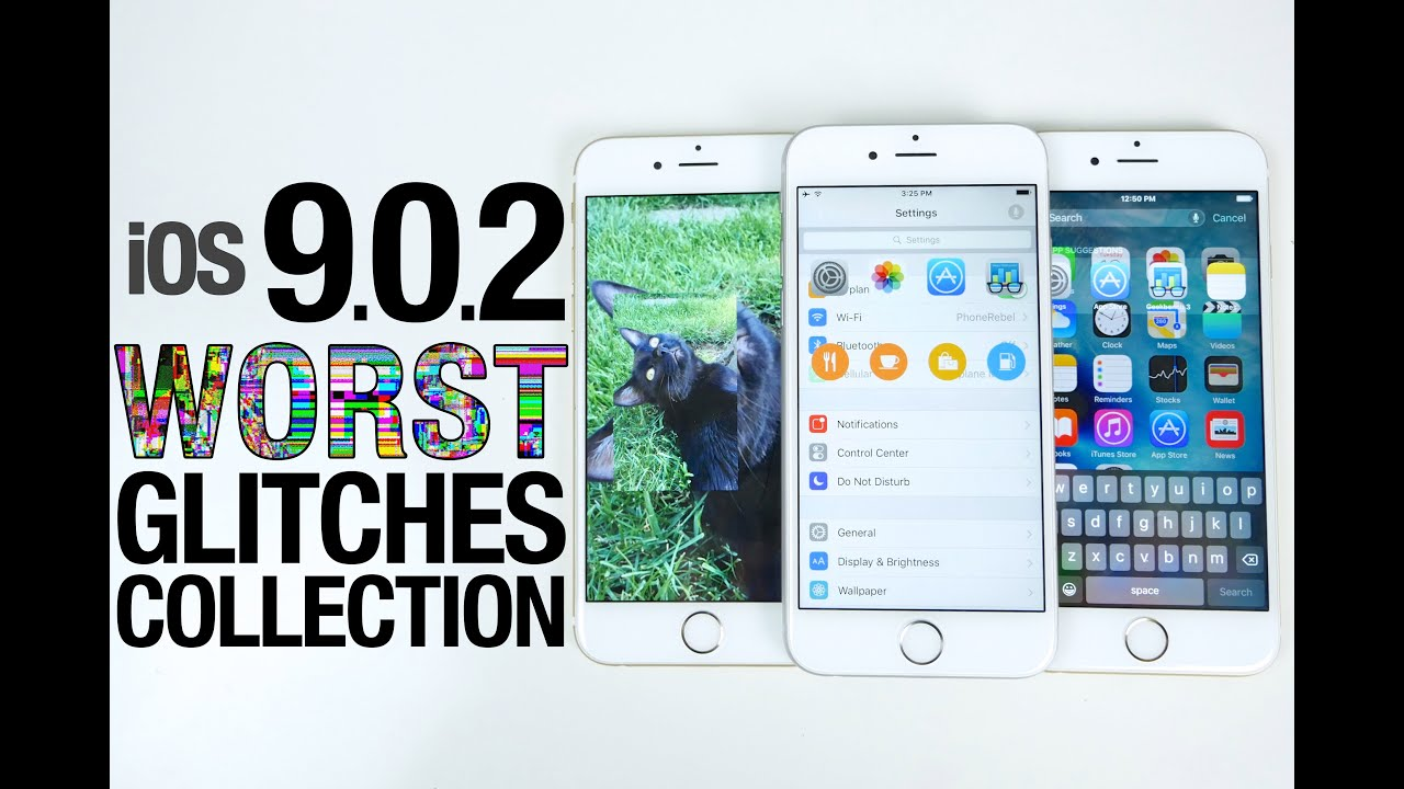 iOS 9.0.2 Glitches & Bugs Collection - More Cool Glitches in iOS 9