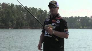 Anthony Gagliardi Topwater Bass on Lake Muray