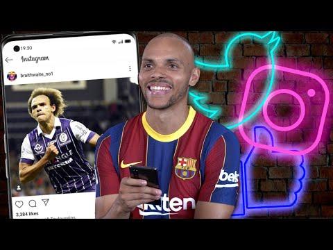 OPPO X FC Barcelona   Social Media Deep Dive With Martin Braithwaite