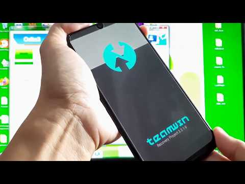 How to Flash TWRP without Stuck on Samsung Logo ( Samsung Galaxy A50 BTC4 Android 10 Q )