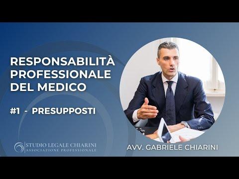 La responsabilità professionale del medico | #1 PRESUPPOSTI