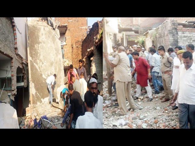 #Mau #Cylinder_Blast घरेलू सिलेंडर फटने से 13 की मौत, गंभीर रूप से घायलों को आजमगढ़ भेजा गया