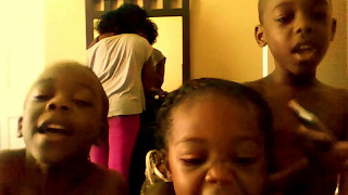 "Nephews n niece singing ""Let It Go"" from the movie Frozen Thumbnail"