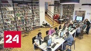 В столичных библиотеках стартует проект ''Встречи с писателями'' - Россия 24