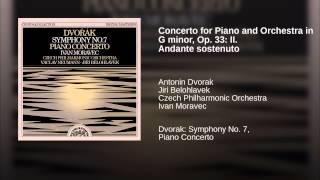 Concerto for Piano and Orchestra in G minor, Op. 33: II. Andante sostenuto