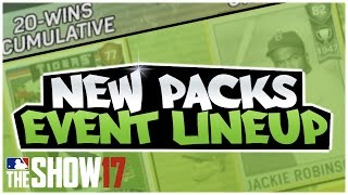 UNDER 25 LINEUP! NEW PACKS & PLAYERS! MLB 17 DIAMOND DYNASTY!