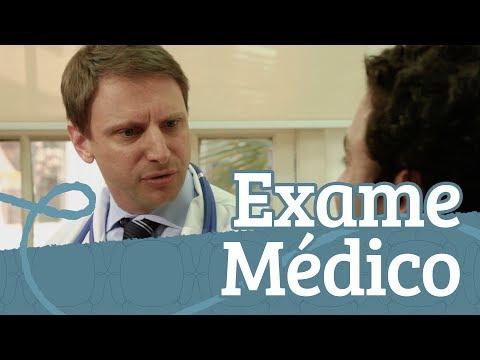 Видео Exame medico para piscina