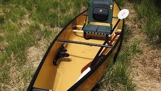 "Testing my new solo canoe from We no nah:  ""Fusion"""