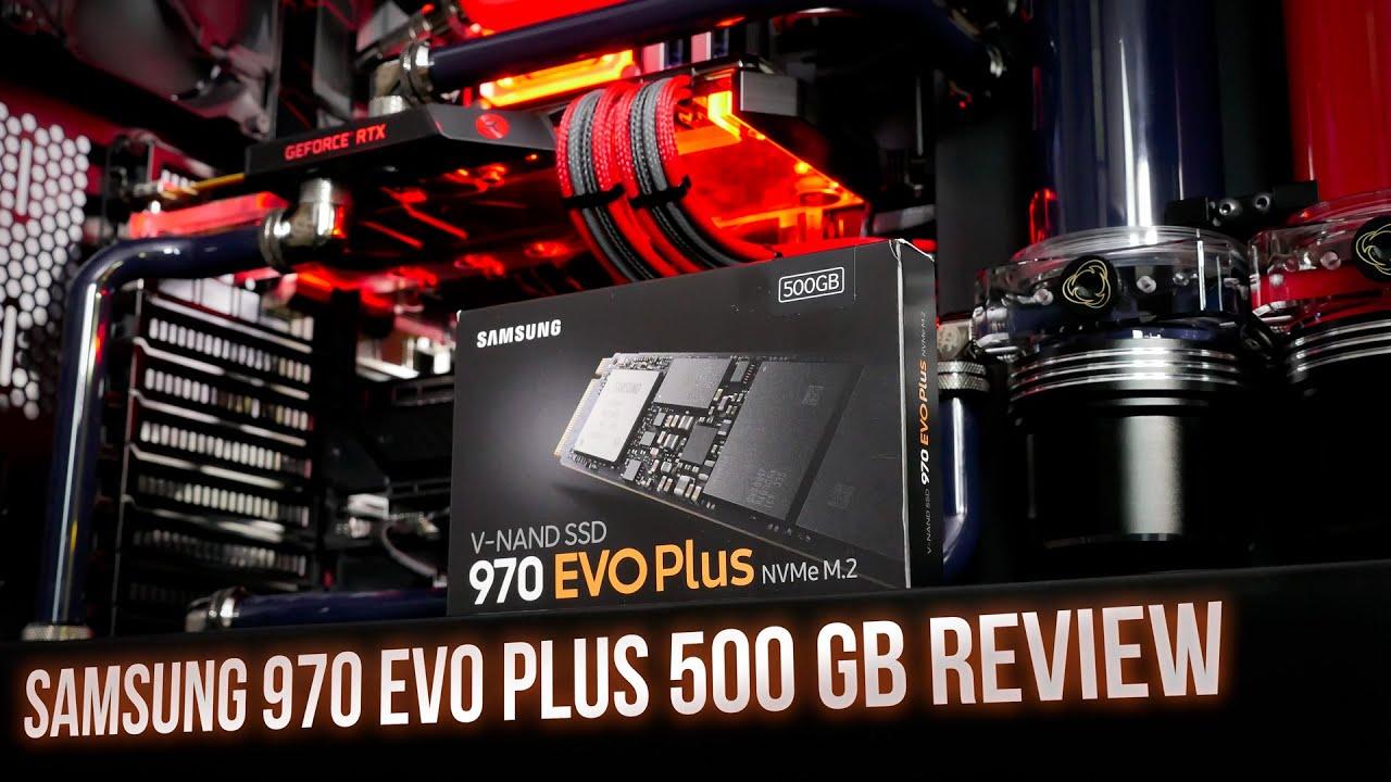 Samsung 970 EVO Plus 500GB M 2 Review