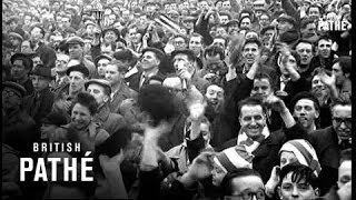 F.A. Cup Fulham V Newcastle (1956)