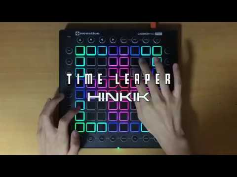 Hinkik - Time Leaper // Launchpad Pro Cover + Project file