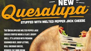 Taco Bell's Quesalupa Has A Cheese Stuffed Taco Shell