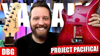 Building The ULTIMATE Yamaha Pacifica - It's FINALLY Happening!!