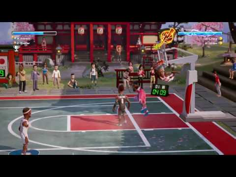 Kwibus playing NBA Playgrounds on Xbox One
