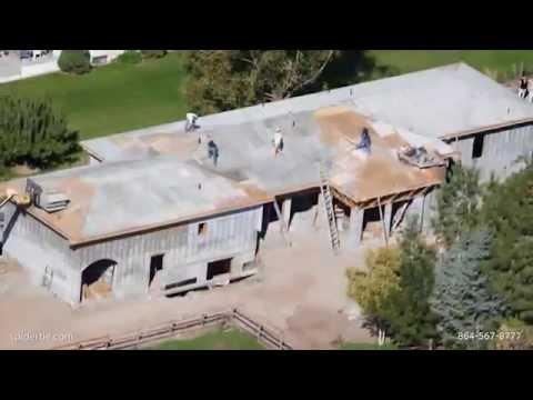 Spider Tie Concrete Roof Youtube