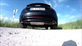Audi TT 3,2 8J V6 Abgasanlage Friedrich Motorsport AGA FMS Sound