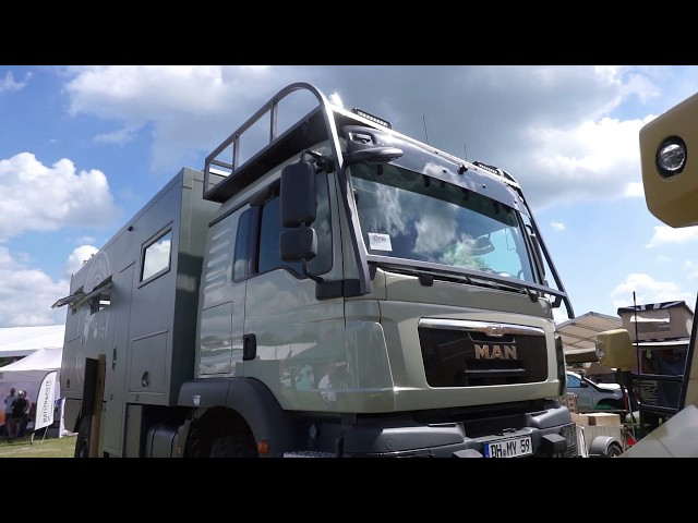 Retiring to a MAN 4x4 expedition RV!