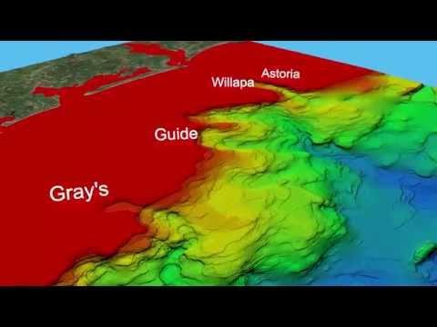 Washington State offshore canyon video