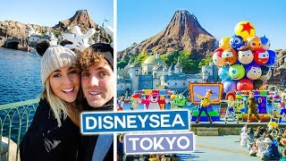 Tokyo Disney Sea - Tokyo Disneyland | Japan Vlog